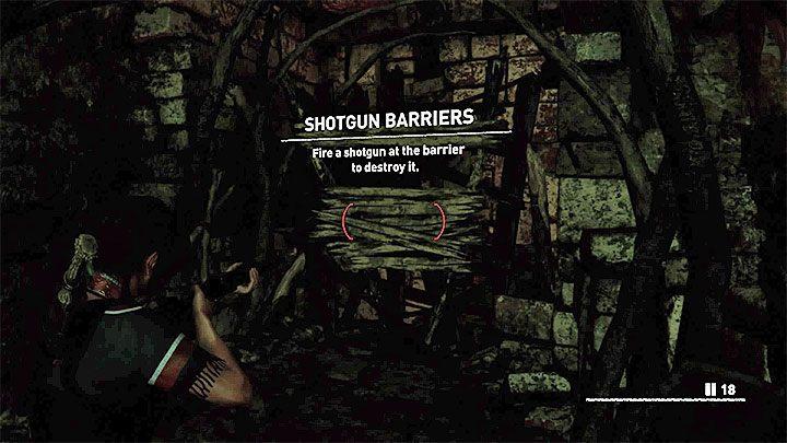С этого момента вы можете использовать свой дробовик, чтобы уничтожить некоторые баррикады - вам нужно снимать одиночные выстрелы в их направлении - Как получить дробовик в Shadow of the Tomb Raider Game?  - FAQ - Тень игры с гробницей