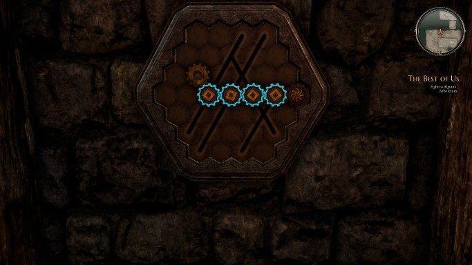 Следующая ловушка может быть снята с охраны с помощью шестерни - Gears    Головоломки в The Bards Tale 4 - Пазлы - The Bards Tale 4 Game Guide