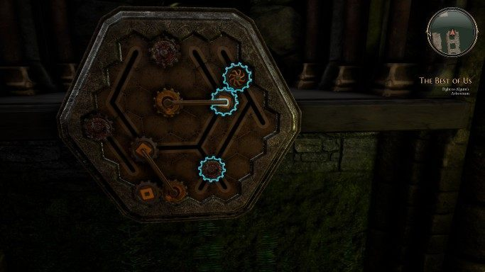 1 - Gears    Головоломки в The Bards Tale 4 - Пазлы - The Bards Tale 4 Game Guide