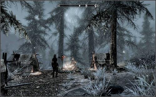 Image result for skyrim falkreath stormcloak camp