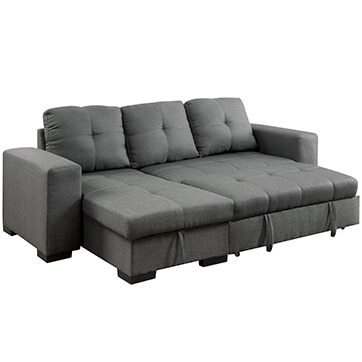 Small Sectional Sofas   Couches for Small Spaces   Overstock com Three Piece Sectional Sofas