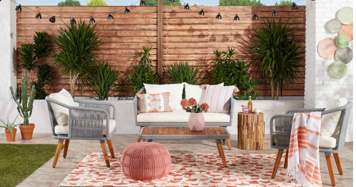 bohemian patio ideas for casual inviting outdoor space overstock com