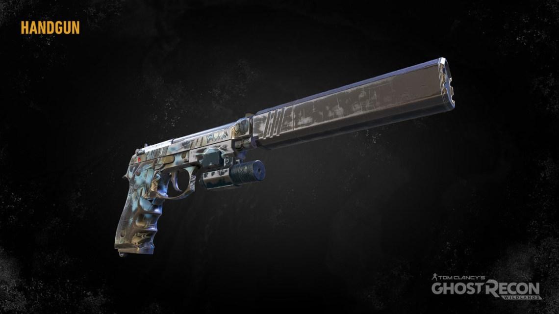 Пистолеты в Ghost Recon: Wildlands