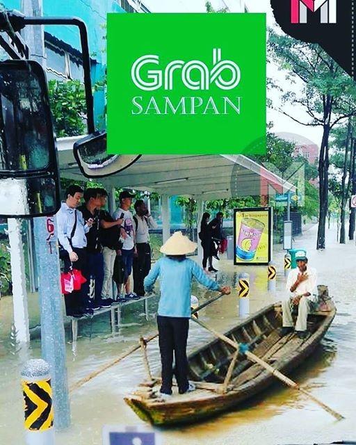 singapore-floods-grab-sampan