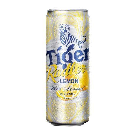 Tiger Beer Packaging Lemon