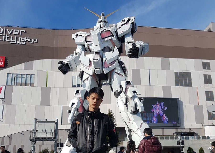 ultimate otaku experience tokyo japan diver city odaiba