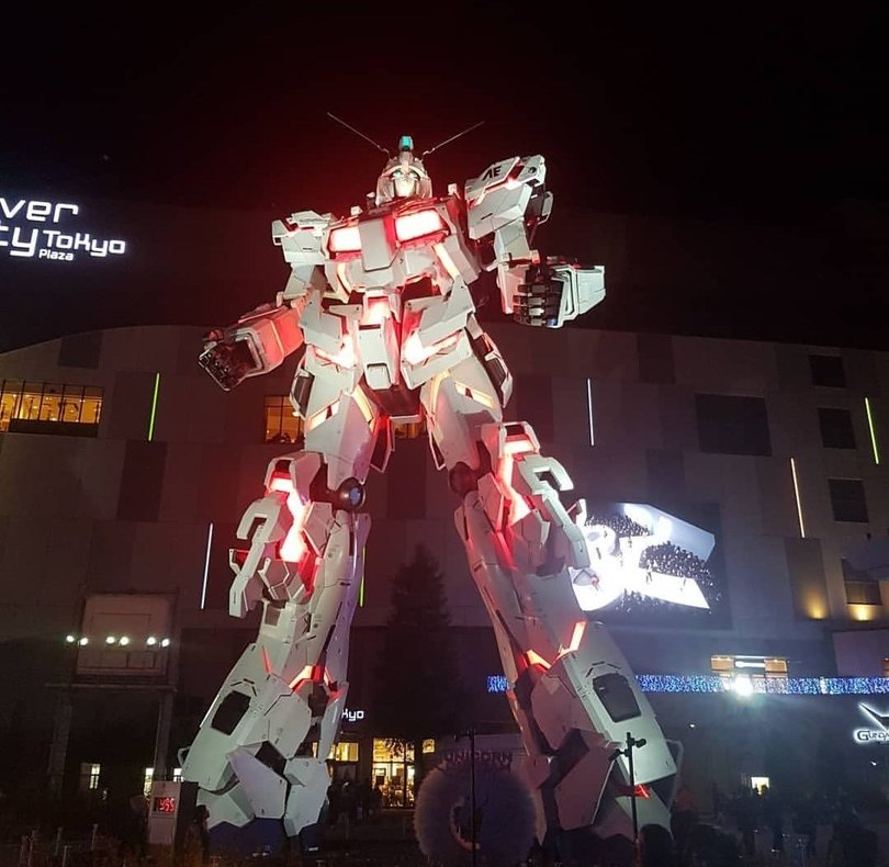 ultimate otaku experience tokyo japan gundam