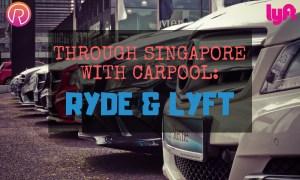 ryde lyft carpooling