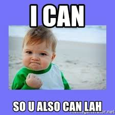 I can so you also can lah can or cannot