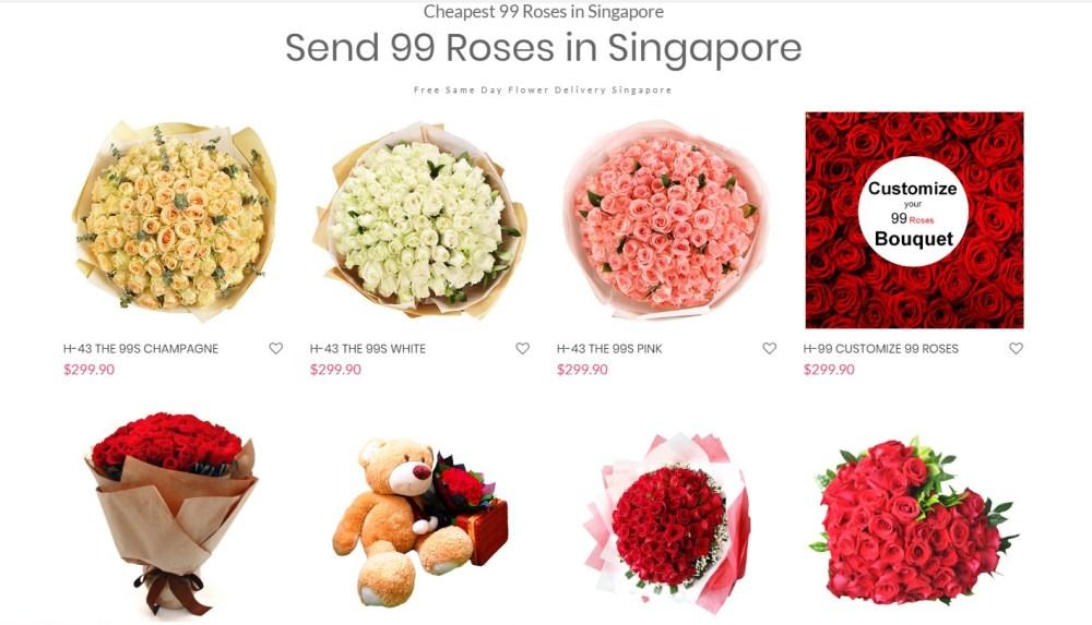 99 Roses Screenshot
