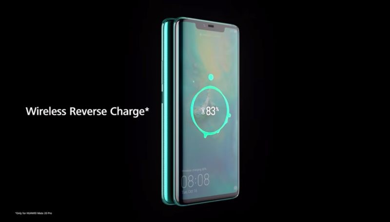 Reverse Wireless Charging