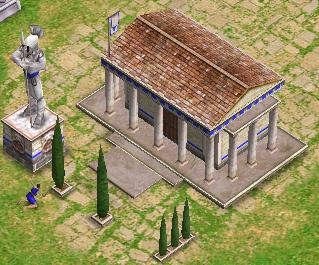 Image result for age of mythology temple worship