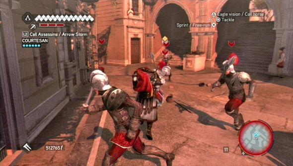 Assassins Creed Brotherhood Xbox360 Walkthrough And