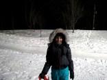 Snowy smile!