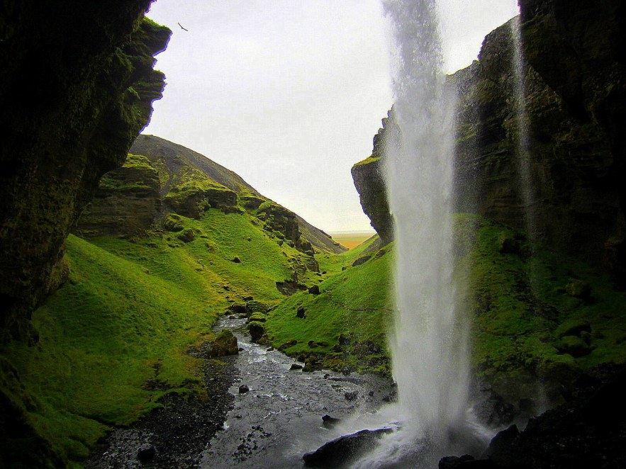 Islanda Sud: Skógar - la cascata nascosta di Kvernufoss