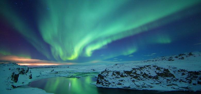 Image result for iceland northern lights