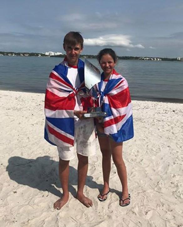 Ben Hutton Penman world champion