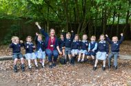 14.09.18. LVS Ascot's new Reception class who began school last week