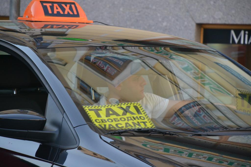 Cab in St.Petersburg