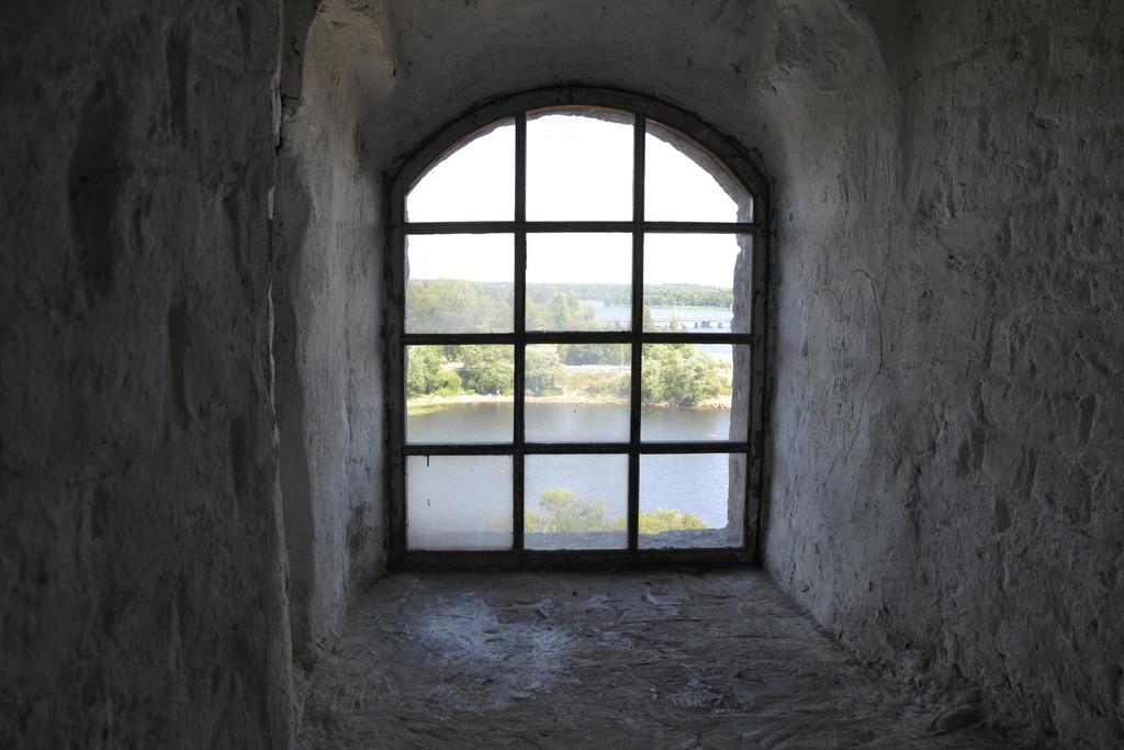 Window of the Vyborg tower
