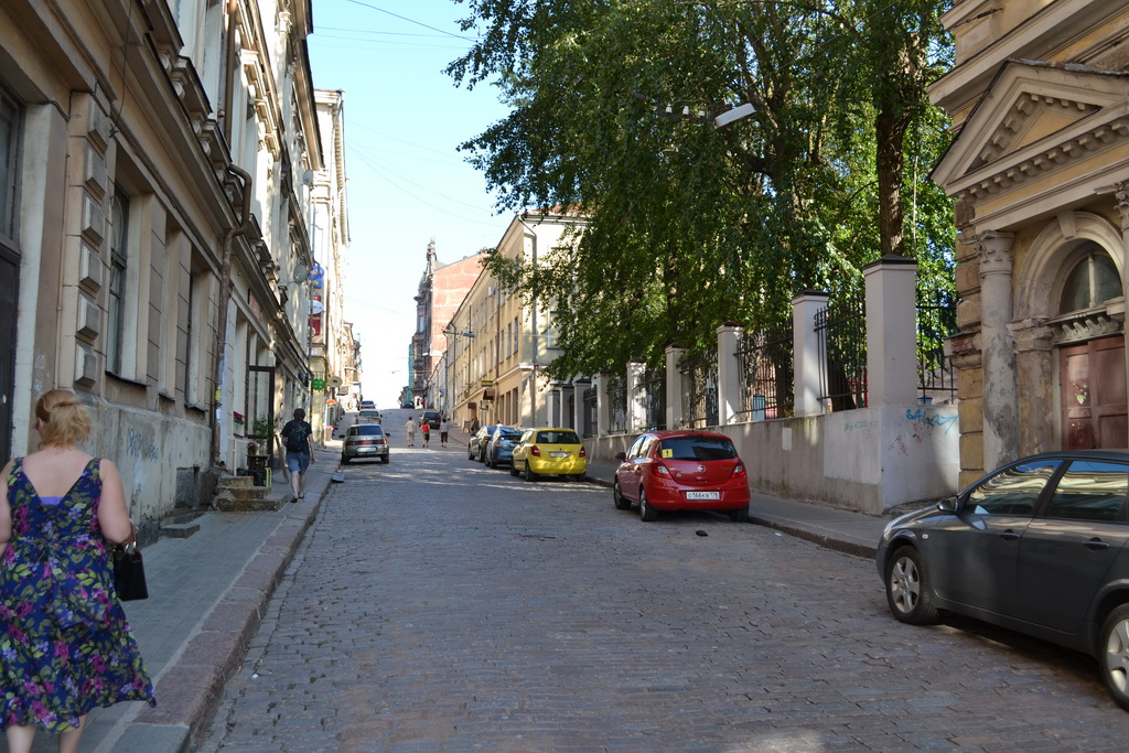 Street of Vyborg