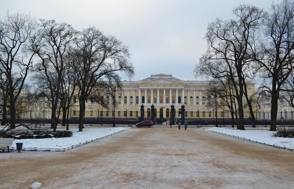 Russian Museum winter