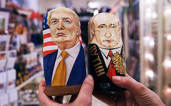 Russian nesting dolls: Putin and Trump