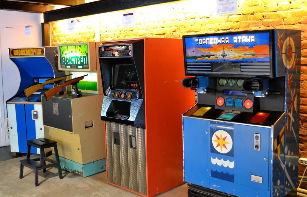 Soviet Arcade Machines