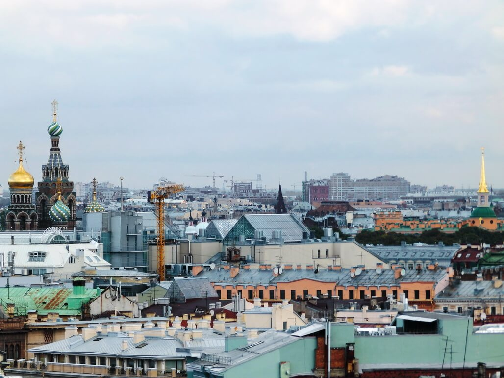 Roof Tours in St Petersburg