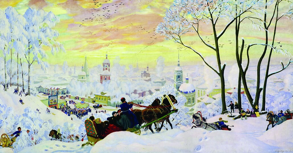 The Pancake Week (Maslenitsa) - Boris Kustodiev