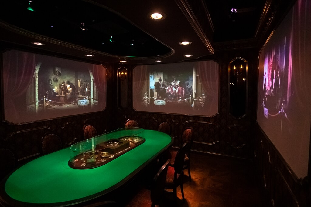 The museum uses virtual installations, videos, interactive lighting