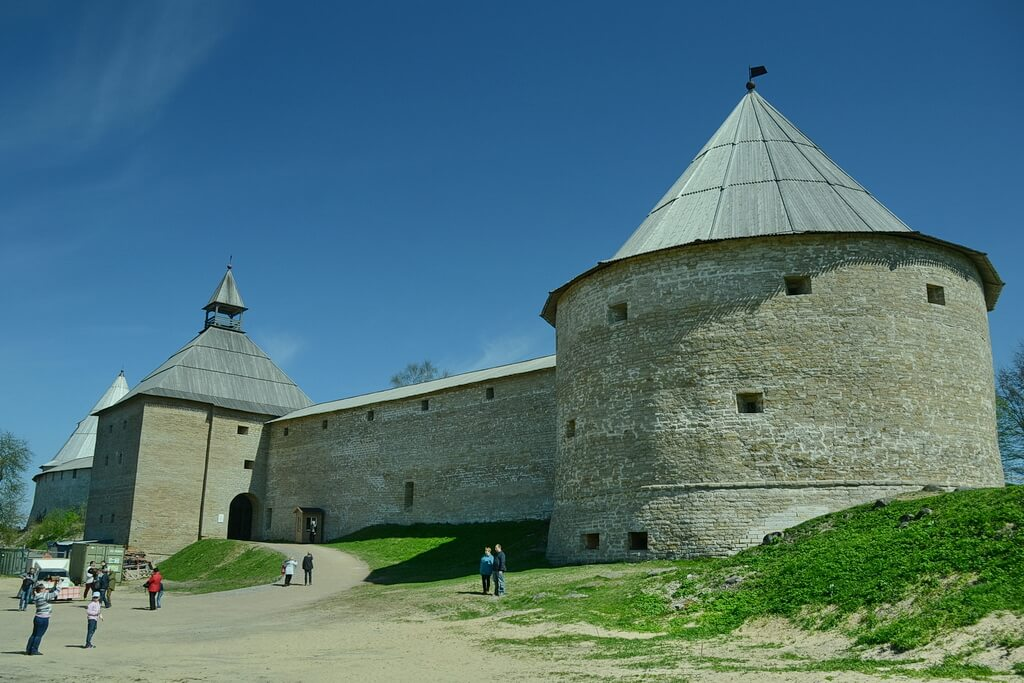the Staraya Ladoga fortress