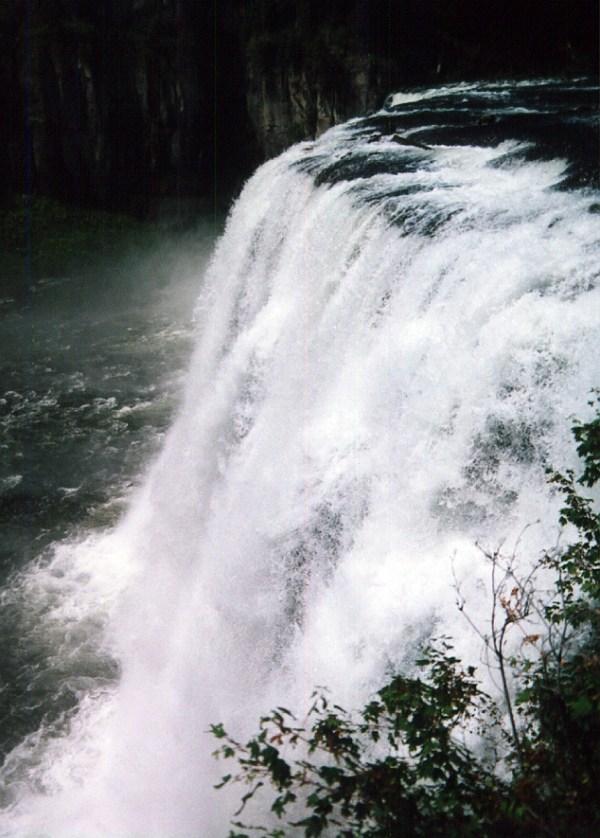 Upper Mesa Falls, Henry's Fork River, Idaho