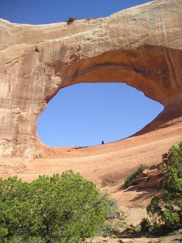 "Wilson Arch, Utah 38 Deg 16' 23"" N, 109 Deg 22' 17"" W"