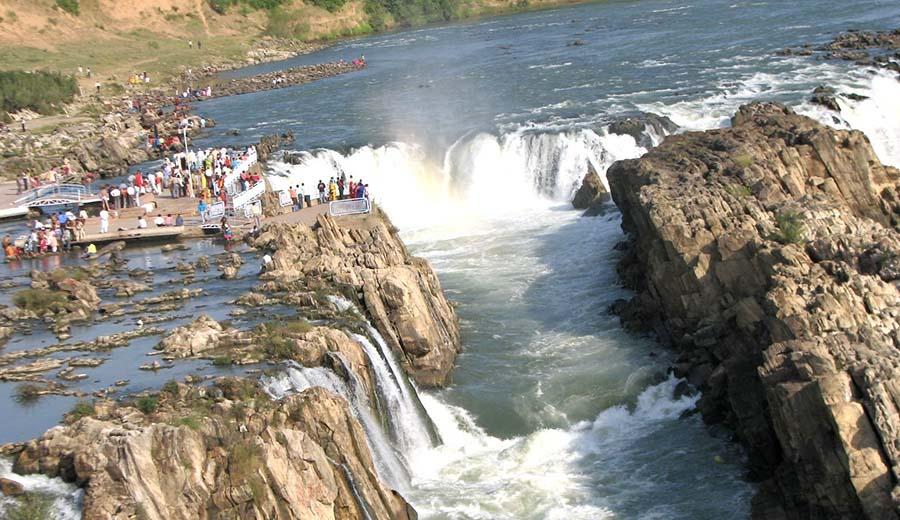 Bhedaghat waterfalls