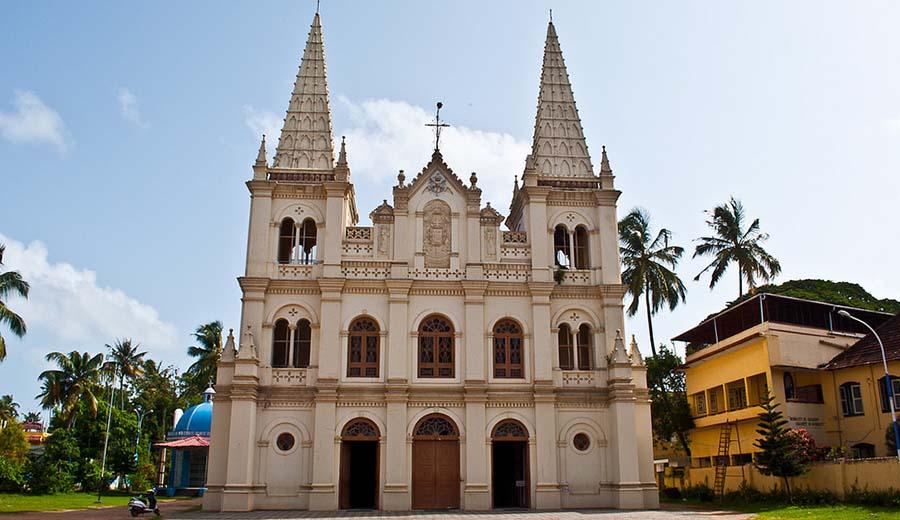 Santa Cruz Basilica in kochi, Kerala