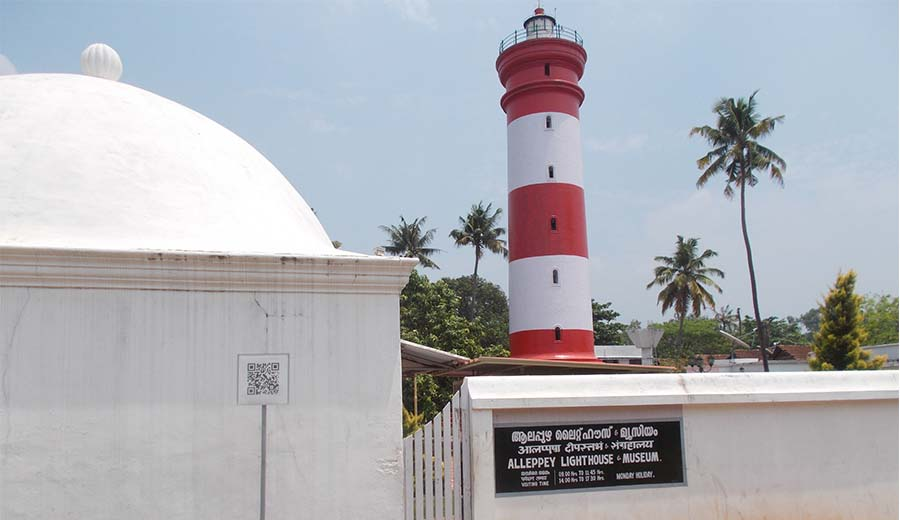 Alappuzha Lighthouse- a heritage spot in Kerala