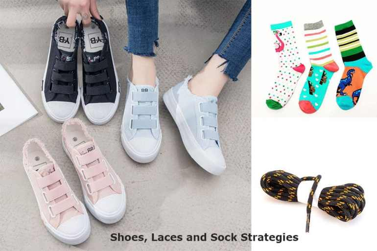 Shoes Laces and Sock Strategies - Keep Your Travel Day Running Smoothly