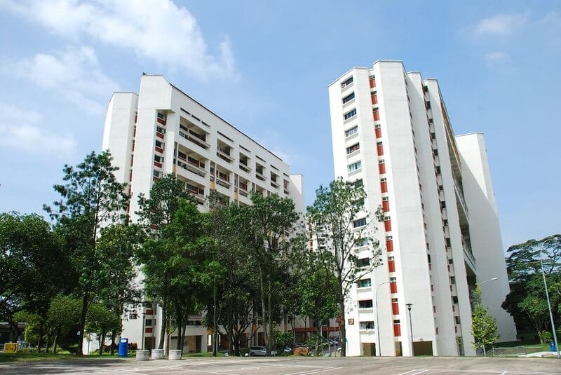 Towering HDBs - About Singapore