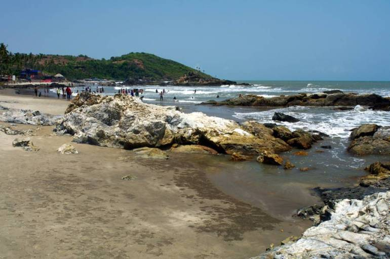 Vagator Beach - Best Beaches in Goa