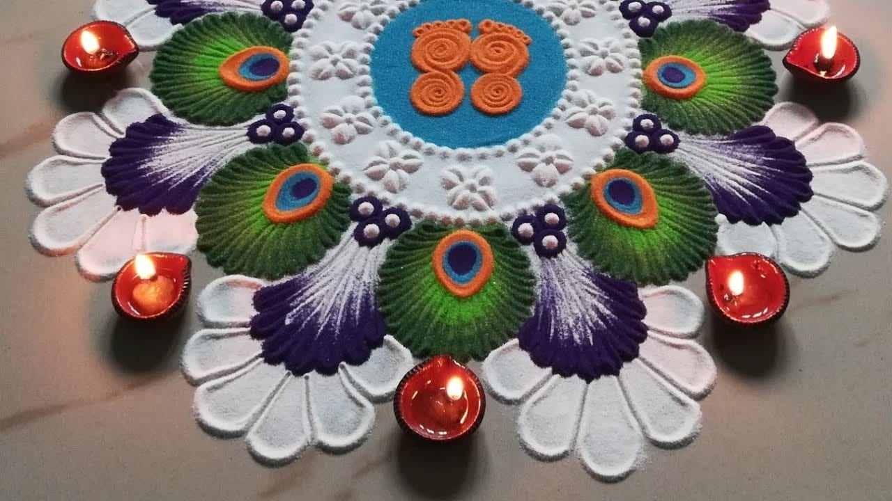 Rangoli- Traditional Floor Art – Regional names – Designs