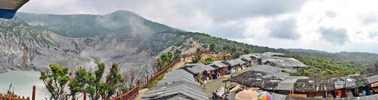Tangkuban Perahu - Amazing Outdoor Experiences to Have in Bandung