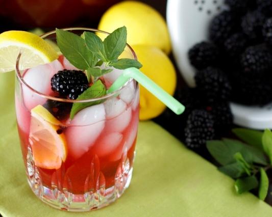 blackberry-lemonade