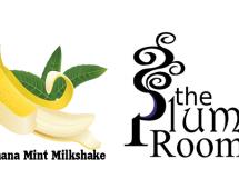 banana mint milkshake