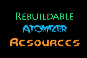 rebuildable atomizer resources