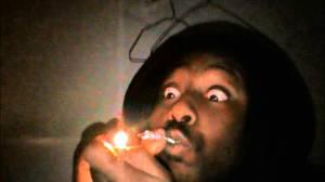 smoking crack