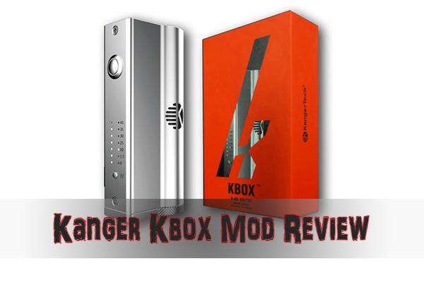 kanger kbox mod review