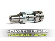 herakles sub-ohm clearomizer review