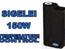 sigelei 150w temperature control