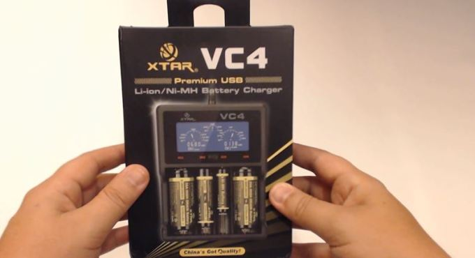 vc4 battery charger packaging